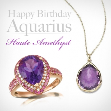 Happy Birthday February LUXies: Get Glam with Amethyst!