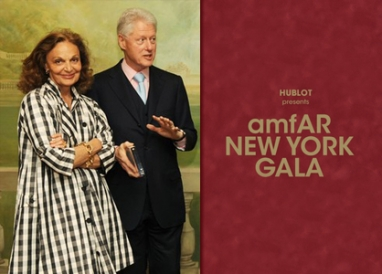 AmfAR honors Bill Clinton at gala