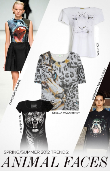 Spring/Summer 2012 Trends: Animal face tees