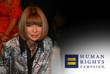 Human Rights Campaign honors Anna Wintour for supporting gay community