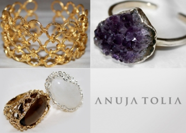 Newcomer Anuja Tolia discusses her jewelry line