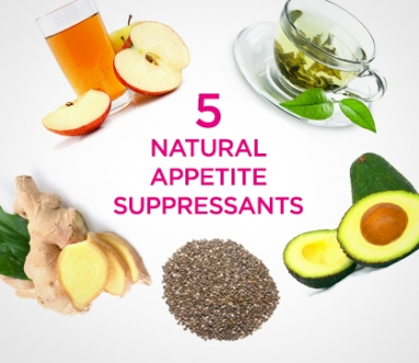 Wellness Wednesday: 5 Natural Appetite Suppressants