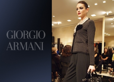 Roberta Armani reveals Fall 2010 and talks Gaga