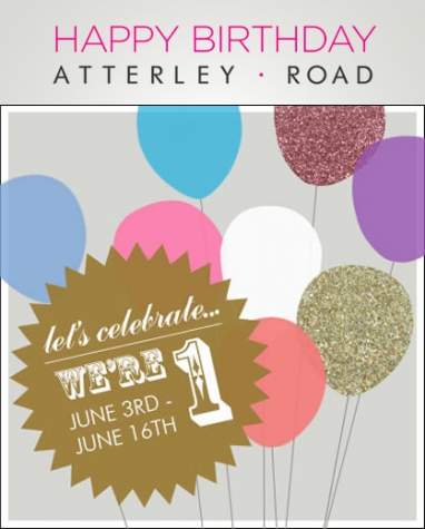 Atterley Road Celebrates Birthday with Free Giveaways