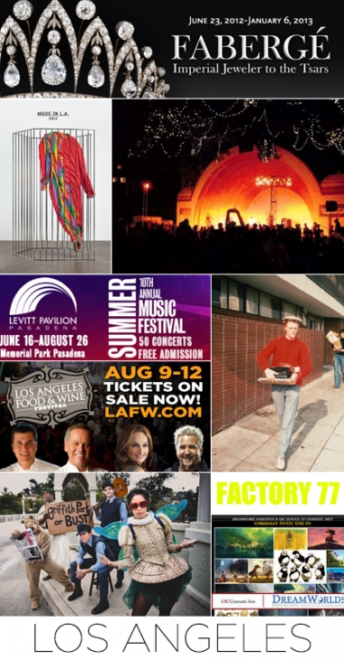 August 2012 event guide: Los Angeles, Miami and Dallas