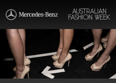 The newly christened Mercedes-Benz Fashion Week Australia