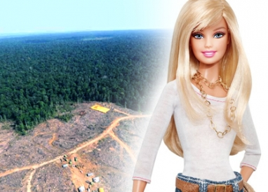 Barbie and Ken wreck the rainforest?