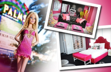 Barbie Hits Vegas, Penthouse Style at the Palms Hotel