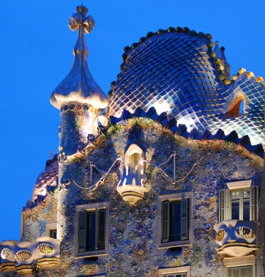 Destination Barcelona: Get Gaudy with Gaudi