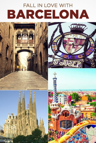 Beguiling, Beautiful Barcelona Beckons