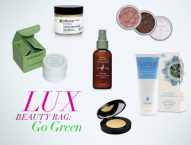 LUX Beauty Bag: Go Green