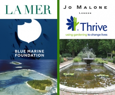 Beauty brands La Mer and Jo Malone support eco causes