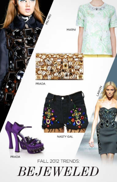 Fall 2012 trends: bejeweled
