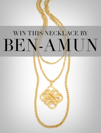 LadyLUX + Ben-Amun Necklace Giveaway