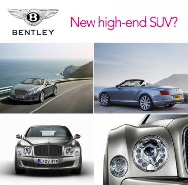 Bentley considers launching luxury SUV