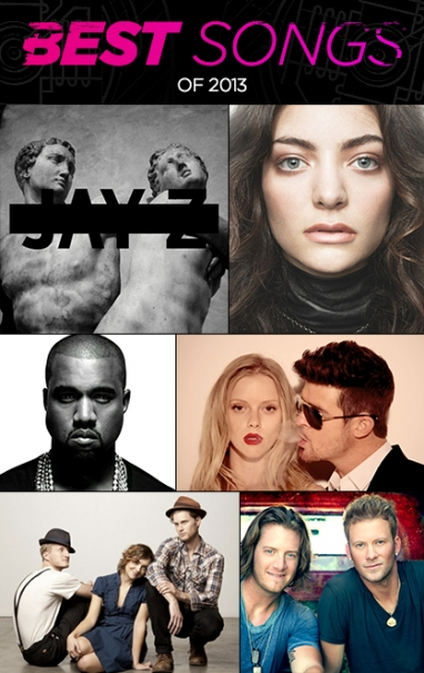 The Year in Music: Hottest Songs of 2013