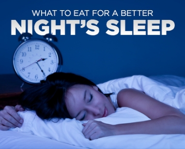 Eat Right, Sleep Tight