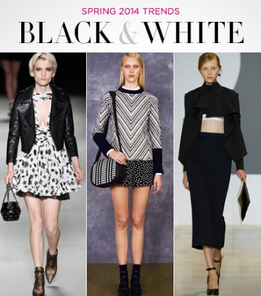 Spring 2014: The Black and White Trend