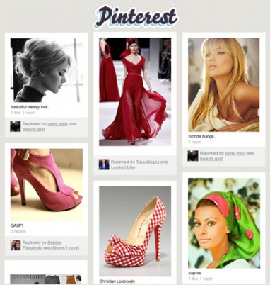 Pinterest, others kick off bookmarking sites
