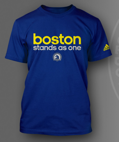 Adidas Creates T-shirt in Honor of Boston Marathon Victims