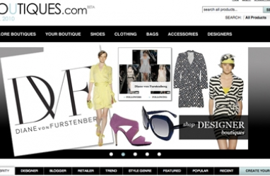 Google's Boutiques.com pops up shop