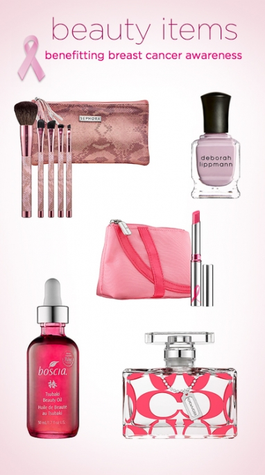 5 Beauty Products Benefitting Breast Cancer Awareness