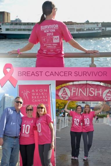 Nicole Seagriff, breast cancer survivor, promotes early detection