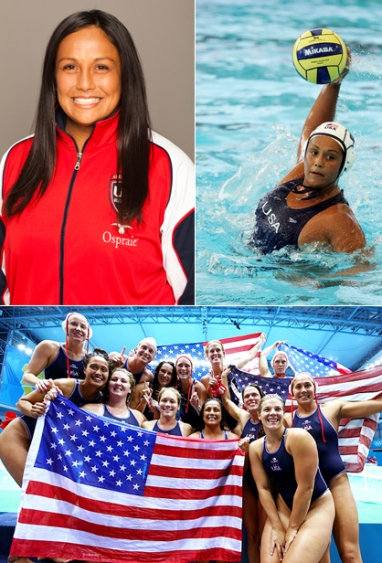 USA Women's Olympic Water Polo Star Brenda Villa Talks Gold Medal, Retiring and her Nonprofit