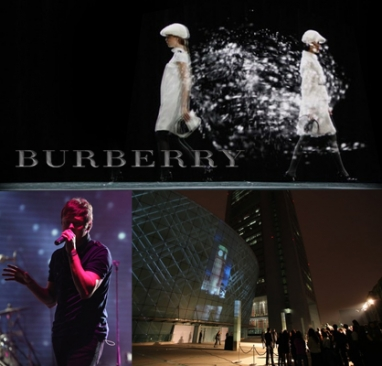 Burberry welcomes Beijing celebration
