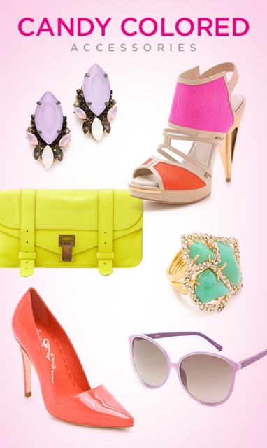 10 Must-Have Candy Colored Accessories