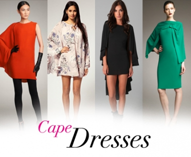LUX Trend: Cape Dresses