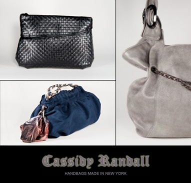 Cassidy Randall designers talk their line of handbags for busy women