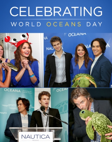 Oceana Holds World Oceans Day Bash