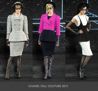 The Strut Report: Chanel Fall 2011 Couture