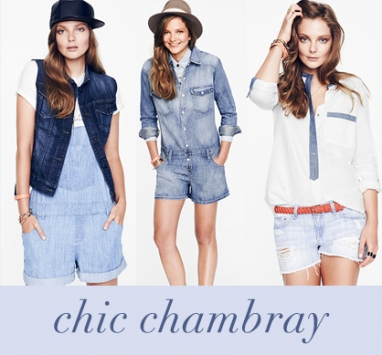 Get the Look: Chic Chambray