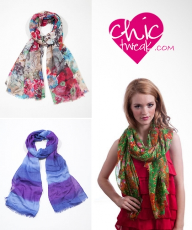 Chic Tweak: The ultimate destination for fun scarves