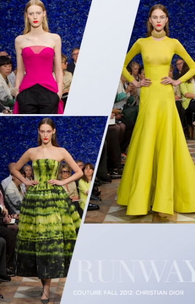 Fall Couture 2012: Christian Dior