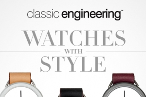 Minimalist Style with classic engineering