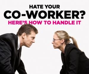 Toxic Co-Worker? Here's What To Do