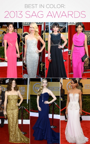 Best in Color: SAG Awards 2013