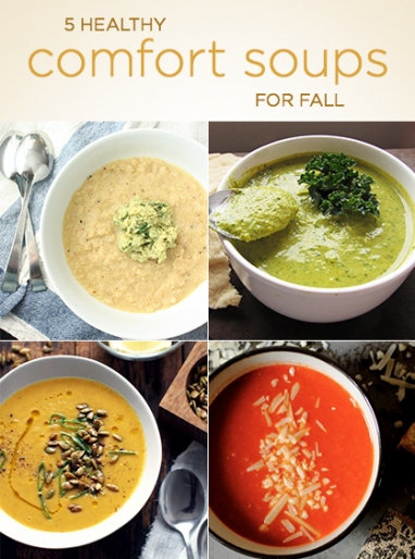 Wellness Wednesday: 5 Healthy Comfort Soups for Fall