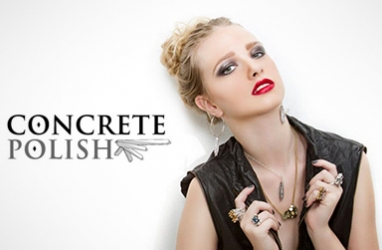Concrete Polish offers modern jewelry with a crystallized twist