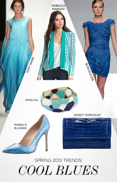 Spring 2013 Trend: Cool Blues