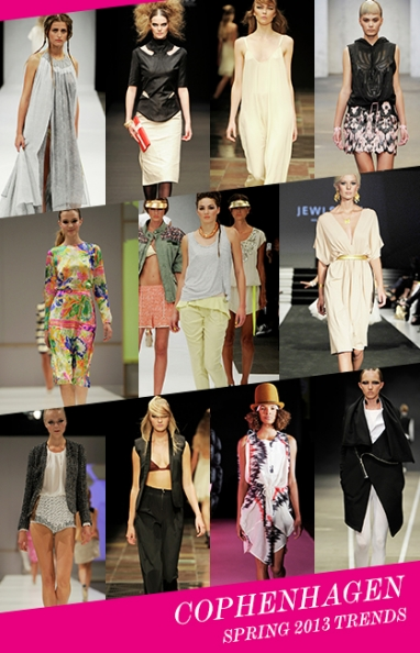 Copenhagen Fashion Week Spring 2013 trends