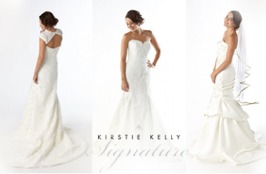 Kirstie Kelly offering Signature gowns at Costco