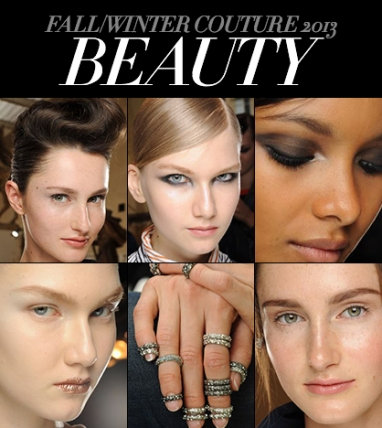 Runway Wrap: Fall/Winter 2013 Couture Beauty