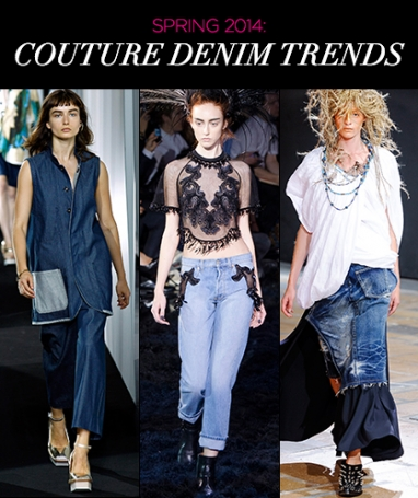 Spring 2014: Trends in Denim