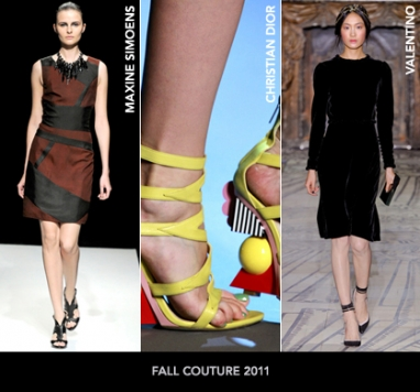 Paris Couture Fall 2011: Footwear Wrap-Up