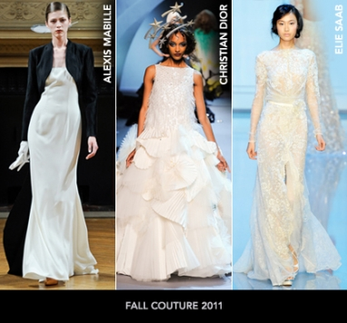 Paris Couture Fall 2011: Shades of White