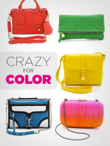 LUX Style: 10 Must-Have Colorful Bags